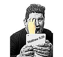 Matthew 5:29 Photographic Print