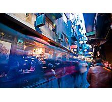 Degraves Street Cafe Scene Photographic Print