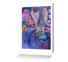 """Water Maid"" by Carter L. Shepard Greeting Card"