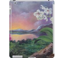 Orchids and Mystery iPad Case/Skin