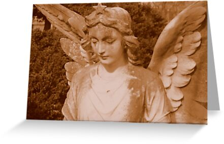 Angel in Sepia  ^ by ctheworld