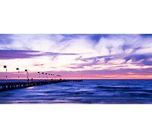 Frankston Pier & Waterfront, Port Phillip Bay, Victoria Photographic Print