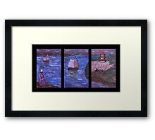 """Waiting Maiden"" by Carter L. Shepard Framed Print"