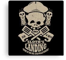Sloth's Landing Canvas Print