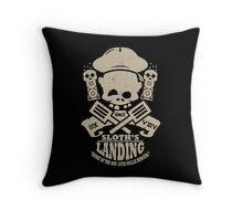 Sloth's Landing Throw Pillow