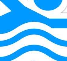 Im Swimming Here Sticker