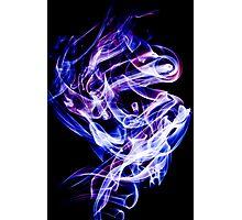 Smoke Art Photographic Print