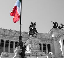 Altar of the Fatherland - Rome - Italy  by Andrea Mazzocchetti