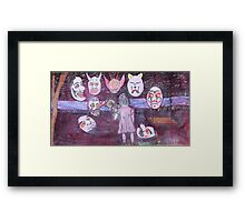 """Attack on Innocence"" by Carter L. Shepard Framed Print"