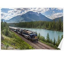 Rocky Mountaineer at Muleshoe Poster