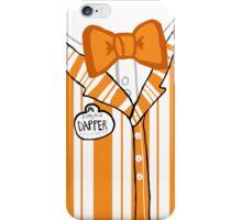 Dapper Dan - Orange iPhone Case/Skin