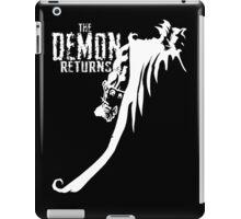 The Demon Returns (White) iPad Case/Skin