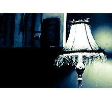 Art deco table lamp Photographic Print