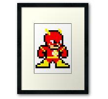 8-bit Flash Framed Print