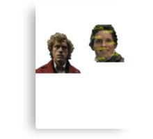 Enjolras and Marius Canvas Print