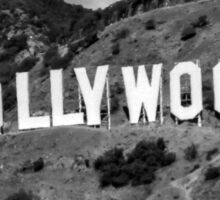 Hollywood B&W #1 Sticker