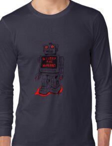 Robot Destroy All Humans Long Sleeve T-Shirt
