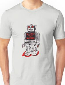 Robot Destroy All Humans Unisex T-Shirt