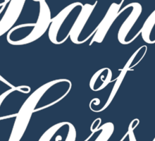 Band of Horses Sticker