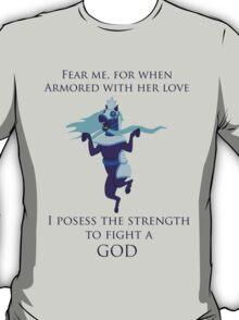 Bravest Warriors Strength To Fight A God T-Shirt