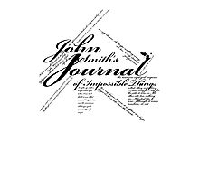 John Smith's Journal of impossible things Photographic Print