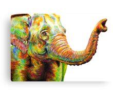 Tilly The Silly Elephant Canvas Print