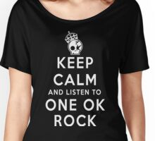 keep calm - one ok rock Women's Relaxed Fit T-Shirt