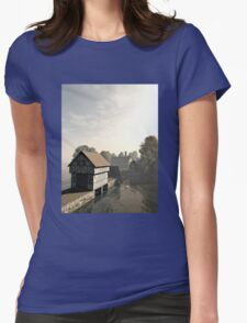 Island Manor House Womens Fitted T-Shirt