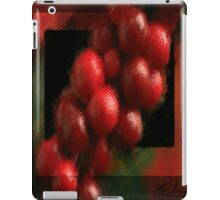 Holly Berries on Branch iPad Case/Skin