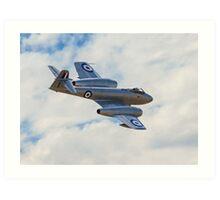 Gloster Meteor F.8 Art Print