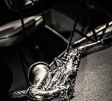 The Lonely Saxophone by davebanenphoto