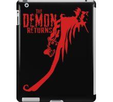 The Demon Returns iPad Case/Skin