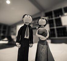 Wedding figurines by davebanenphoto