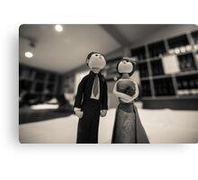 Wedding figurines Canvas Print
