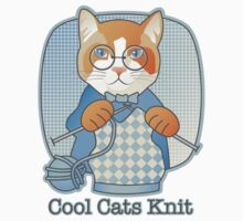 Cool Cats Knit One Piece - Short Sleeve