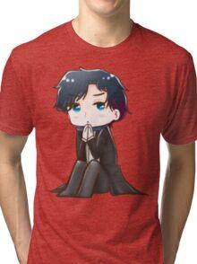 Sherlock in his Mind Palace  Tri-blend T-Shirt