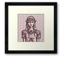Zelda iPhone Case Framed Print