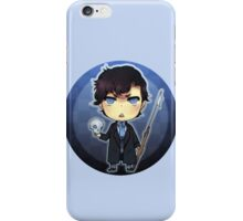 Sherlock and his Harpoon  iPhone Case/Skin