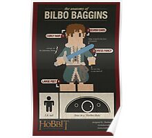 The Anatomy of Bilbo Baggins Poster