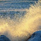 Sunset Splash by BarbL