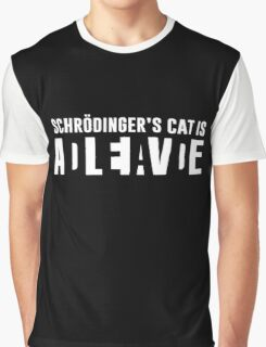 Schrodingers Cat Graphic T-Shirt