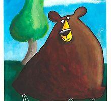 Bear by dotmund