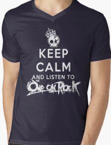 keep calm - one ok rock enjoy Mens V-Neck T-Shirt
