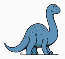 DinoKids Brontosaurus 01 Baby Tee