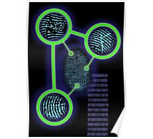 Science Fingerprint ID Poster
