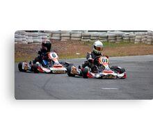 Kart Racing Canvas Print