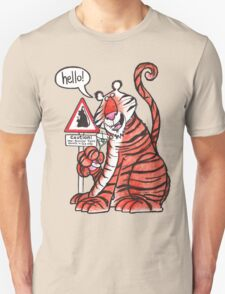 Over-familiar tiger T-Shirt