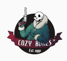 Cozy Bones - sticker by Demmy