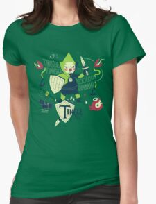 the legend of tingle: the magic words of time Womens Fitted T-Shirt