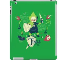 the legend of tingle: the magic words of time iPad Case/Skin